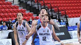 馬來西亞因疫情臨時徵召願意來台球員。(圖/記者劉家維攝影)