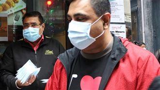 男星買口罩發這2群人 背後原因超暖