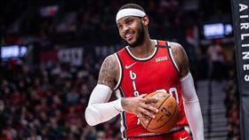 NBA/甜瓜致命跳投 轟新高32分 NBA,波特蘭拓荒者,Carmelo Anthony 翻攝自推特