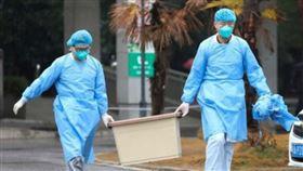 中國疫情升溫 武漢肺炎死亡增至6例(圖/翻攝自微博)