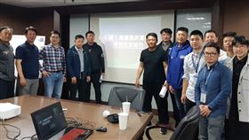 中華隊6搶1情蒐會議。(圖/中職提供)