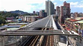 環狀線,秀朗橋站。(圖/記者陳韋帆攝影)