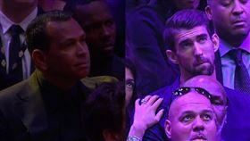 大咖齊悼柯比 飛魚、A-Rod也來 NBA,Kobe Bryant,Michael Jordan,追思會,飛魚,A-Rod 翻攝自直播畫面
