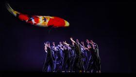 雲門十三聲巡演法國 以舞蹈帶領觀眾到台北雲門舞集帶著藝術總監鄭宗龍舞作「十三聲」前進法國巡演,「十三聲」以錦鯉貫穿整個舞台視覺,有觀眾表示,全作就像用舞蹈把他們帶到了台北艋舺。(雲門舞集提供)中央社記者洪健倫傳真 109年2月14日