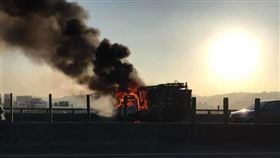 新北市,五股,台64,火燒車,意外