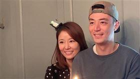 ▲去年12月甜蜜幫老公霍建華慶生(圖/翻攝自林心如臉書)