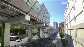 捷運秀朗橋站。(圖/記者陳韋帆攝影)