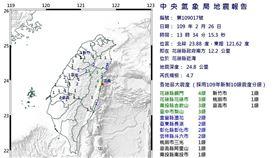 0226 1:34地震(圖/翻攝自氣象局)