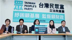 民眾黨團推出「2019新型冠狀病毒防疫及基層紓困條例草案」(民眾黨提供)