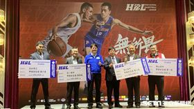 HBL於26日舉行決賽記者會。(圖/記者劉家維攝影)