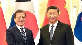 文在寅,習近平,中國,南韓,韓國,總統 圖翻攝自文在寅臉書