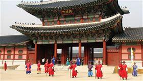 韓國,首爾,旅遊,景福宮(圖/翻攝自pixabay)