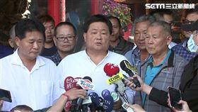大甲鎮瀾宮董事長顏清標出面說明今年媽祖遶境延後。