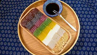「七彩旋風」降臨 傳統小吃大變身!