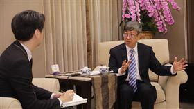 副總統陳建仁接受日媒訪問(圖/總統府提供)