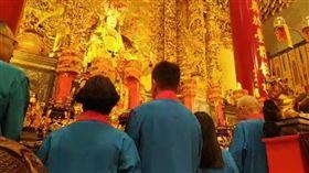 吳敦義0428松山慈惠堂「安龍護國祈福大典」米龍開光儀式,臉書