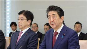 日本首相安倍晉三 圖翻攝自首相官邸 https://www.instagram.com/p/B8c8jU_gFub/