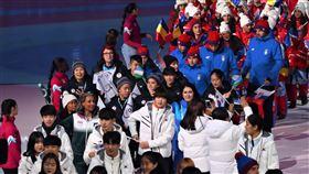 ▲中華冬季青年奧運代表團出席開幕典禮。(圖/中華奧會提供)