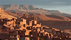 非洲,沙漠,小鎮,荒涼(圖/翻攝自pixabay)