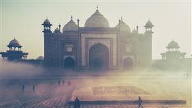 印度,泰姬瑪哈陵,早晨,觀光(圖/翻攝自pixabay)