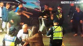 唱KTV兩派人馬險當街開打 原因只因「走錯包廂」(圖/警方提供)