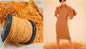 橡皮筋,衣服,創意,日本,服裝設計,畢業製作,坂本理惠