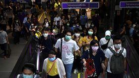 泰國,武漢肺炎,曼谷,口罩,圖/路透社/達志影像