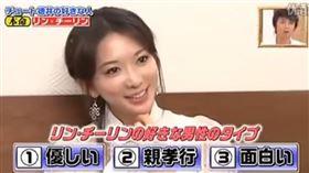 ▼▲林志玲接受日本節目訪問,全程都用日文回答。(圖/翻攝自影片截圖)