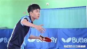 林昀儒積極備戰奧運。(圖/記者劉家維攝影)