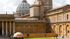梵蒂岡機密檔案館(圖/翻攝自GOOGLE MAP
