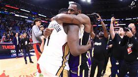 NBA/未來是你的 詹皇又勝威廉森 NBA,洛杉磯湖人,LeBron James,紐奧良鵜鶘,Zion Williamson 翻攝自湖人官方推特
