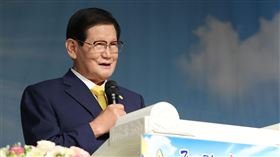 新天地教會教主,李萬熙(圖/截取自新天地教會臉書)