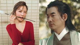 事隔20年任賢齊客串《笑傲江湖》演出「風清揚」熊熊演出任盈盈。(圖/翻攝自YouTube)