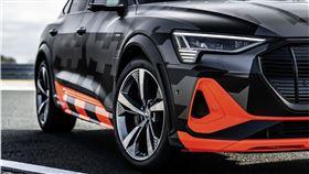 ▲Audi三馬達電動車E-Tron Sportback S。(圖/翻攝Audi網站)