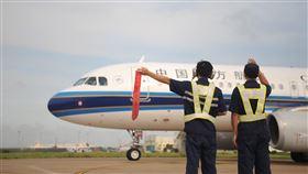 中國南方航空今天宣布,將自3月8日起復航台北─上海航班。(圖/南航提供)