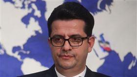 伊朗外交部發言人墨沙維(Abbas Mousavi)。(圖/翻攝自維基百科,CC BY 4.0)