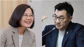 蔡英文、江啟臣(組合圖/資料照)