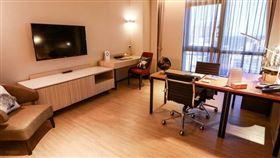 元氣辦公宅,H+B+O公寓酒店更顯優勢,住宿、商務、辦公,all in最佳異地備援組合空間(圖/業者提供)