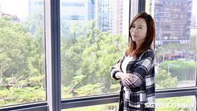 安晨妤接受三立新聞網專訪聊婚變官司 記者林聖凱攝影