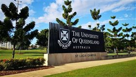 澳洲昆士蘭大學(圖)一名中國留學生確診事件引起輿論關注。媒體報導指不少中國學生於第三國停留期間並未自行隔離,反而到處趴趴走。(圖取自facebook.com/uniofqld)