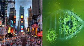 美國,紐約,確診,感染,患者(圖/翻攝自百度百科)