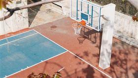籃球場。(圖/翻攝自Pixabay)