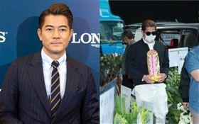郭富城母親喪禮/告別式於4日在香港殯儀館舉行。「娛樂有飯」微博