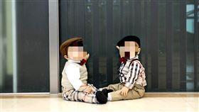 雙胞胎,男童 示意圖/pixabay