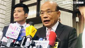 行政院長蘇貞昌立法院施政報告總質詢。(圖/記者林恩如攝)