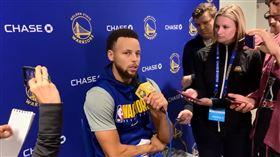 NBA/終於復出 柯瑞:好像開學日 NBA,金州勇士,Stephen Curry,骨折,復出 翻攝自推特