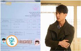 吳尊和老婆林麗吟(林麗瑩)公開結婚證(圖/翻攝自微博)