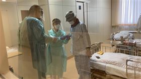 鑽石公主號日本就醫5台人全出院 3人順利返台爆發武漢肺炎疫情的鑽石公主號郵輪上確診感染、在日本就醫的5名台灣乘客全部出院,其中3人已順利返台,另2人也待班機回台。圖為一名85歲台籍男士在日本櫪木縣那須一家醫院的就醫情況。(家屬提供)中央社記者楊明珠東京傳真 109年3月6日