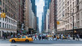 美國,街景,斑馬線,行人,人口(圖/翻攝自pixabay)