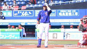 ▲世界棒球12強賽台灣中華隊墨西哥王柏融。(圖/記者王怡翔攝影)